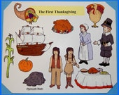 The First Thanksgiving  Felt / Flannel Board Set
