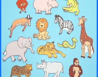 Rumble in the Jungle -Animals- Felt / Flannel Board Set