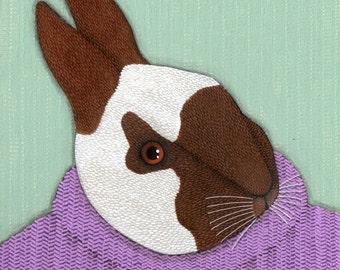 original painting (Rabbit Five)