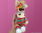 Amigurumi Pattern -  Bonya, the Rainbow Horse
