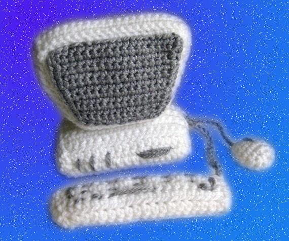 Amigurumi pattern - Crocheted Computer