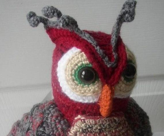Owl Artist Doll OOAK......Free Shipping