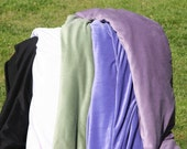 Hooded Poncho or Cape - Made to Order in Velvet or Fleece