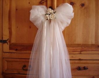 Set of 2 Wedding Alter Bows