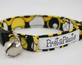 Safety Cat Collar in Mellow Yellow