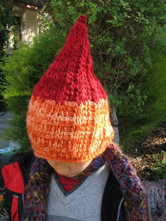 Gnome Hat - Tunisian Crochet Pattern