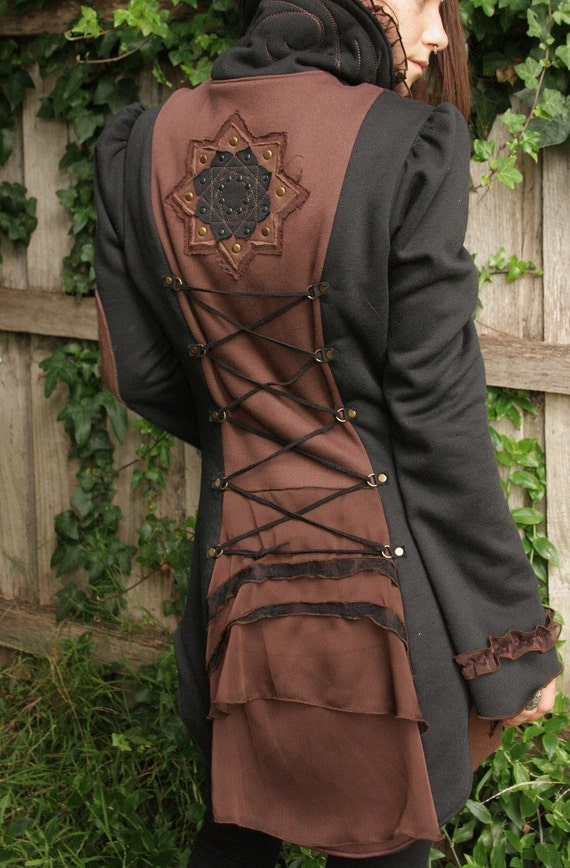 Elegant mandala coat.. Available for limited custom order... soon to be discontinued.