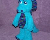 Kimber the Little Dragon PDF Crochet Pattern