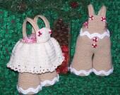 Gingerbread Treasure Trousers PDF Crochet Pattern