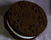 Chocolate Cookie Treasure Cake PDF Crochet Pattern
