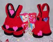 Valentine Treasure Trousers PDF Crochet Pattern