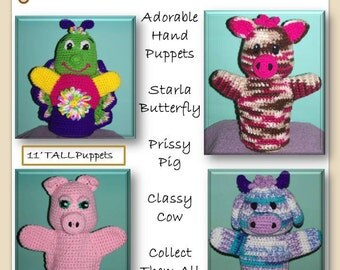 Playful Puppets Volume 1 Crochet Pattern PDF
