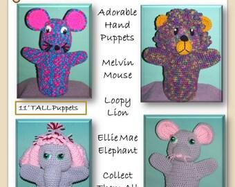 Playful Puppets Volume 3  Crochet Pattern PDF