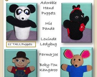 Playful Puppets Volume 4 Crochet Pattern PDF