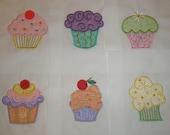 Cupcake Quilt Blocks