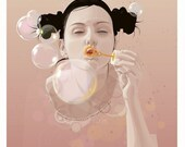 Bubbles - Limited Edition Print