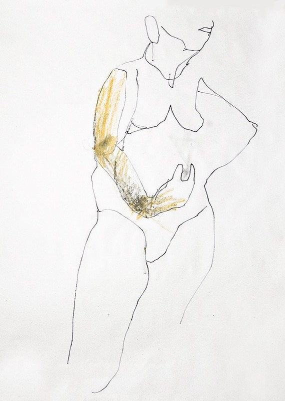 Figure drawing 94 by Liva Reserved