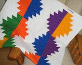 Bright Mountains Quilt