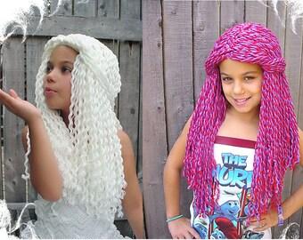 Yarn Falls Hair Crochet Fashion Wig Custom Made