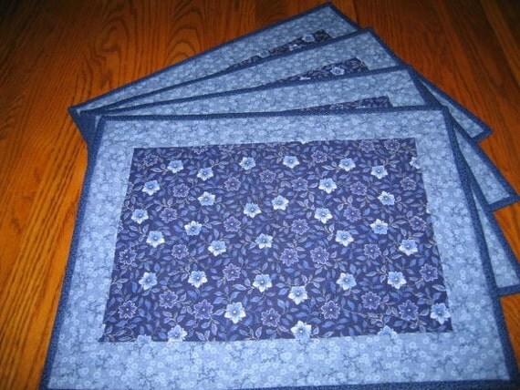 Starflower Placemats  - Set of 4