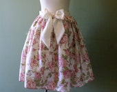 PINK CHIC floral skirt