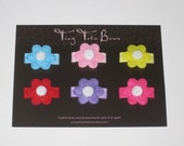 Steal of the Day--Mini Flower 6 Pack on Snap Clips