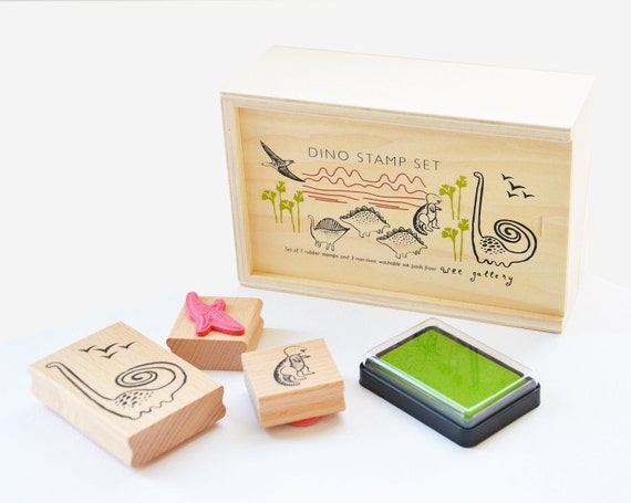 Dino Rubber Stamps