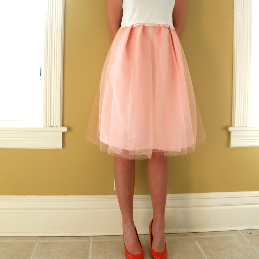 Powder Pink Dress by DoveTree on Etsy