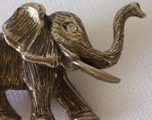 Vintage Hobe Elephant Brooch