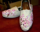 Custom TOMS - Cherry Blossoms for Spring, price includes shoes in your size and color