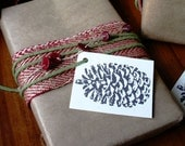Rustic Holiday Gift Wrap Kit