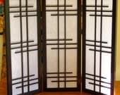 4 Panel Shoji Screen