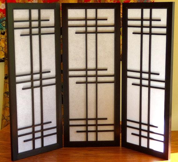 3 Panel Shoji Screen