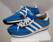 Vintage TRAX Tennis Running Shoes 1970's Mens 10.5