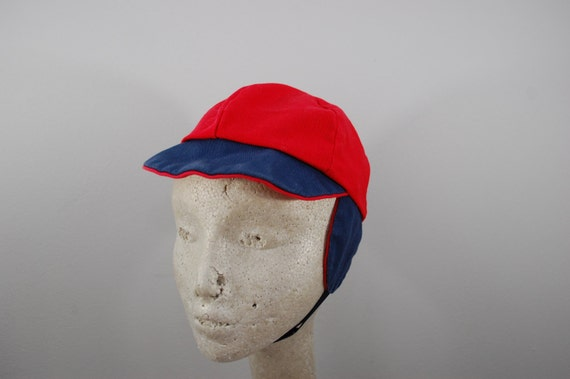Vintage Boys Hat with flaps reversible