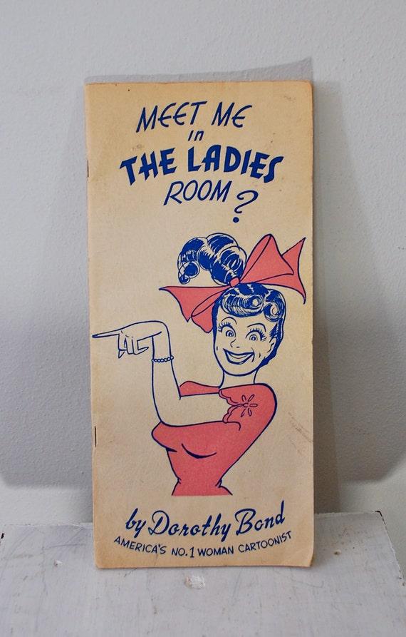 Vintage DOROTHY BOND Cartoon Comic Book 1948 autographed