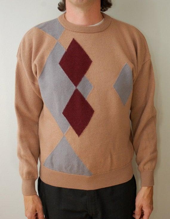 Vintage PENDLETON Wool Sweater Mens Large USA