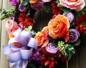 Floral Circus - Mini Wreath