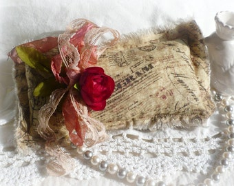 Spanking New Today - Handmade Heirloom Lavender Sachet, Perfect for a Gift