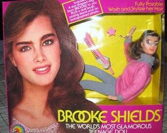 Vintage Brooke Shields doll NIB