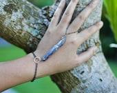 Crystal Healing Hand Chains, kyanite, danburite, quartz