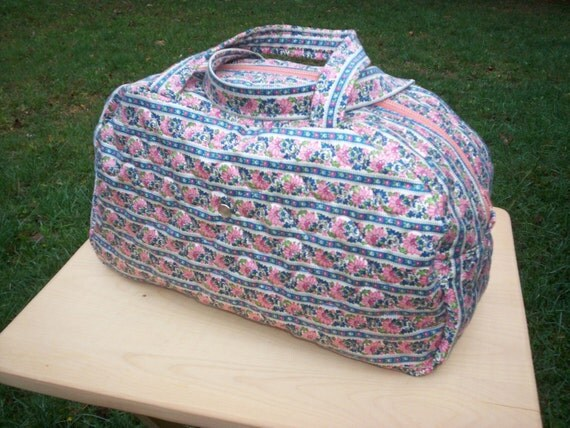 Travel/Cosmetics Bag - Quilted