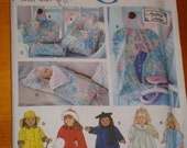 Simplicity Doll pattern fits American Girl- doll accessories and more
