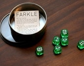 Farkle Dice Game Set - Farkel is a GREAT FAMILY GAME