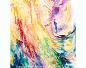 Angel of Forgiveness - space of freedom for you - fine art (giclee) limited edition print of my original painting