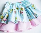 PDF Pattern Ruffle Twirl Skirt