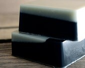 Viking Soap, Handmade Glycerin Soap with Charcoal and Clay