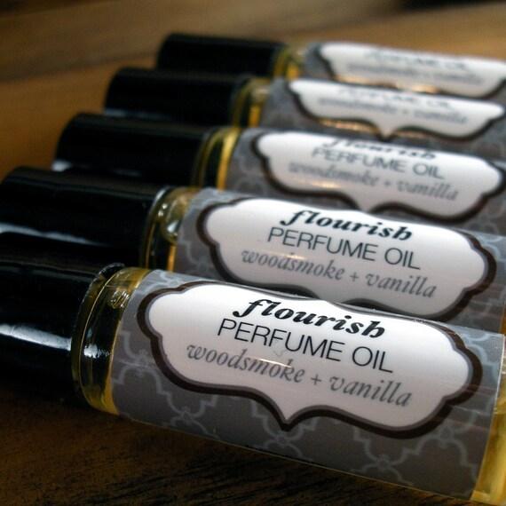 Woodsmoke and Vanilla Perfume Oil