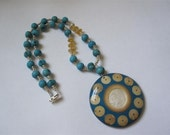 Summer days - eco-friendly necklace