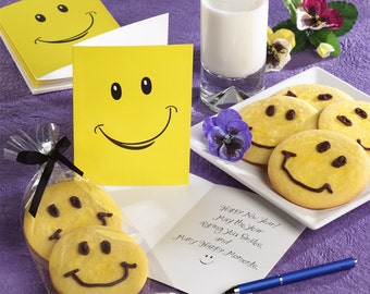 Happyface Enoji Greeting Card